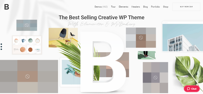 Bridge Best-Selling Creative WordPress Theme