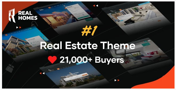 RealHomes - Estate Sale and Rental WordPress Theme by InspiryThemes